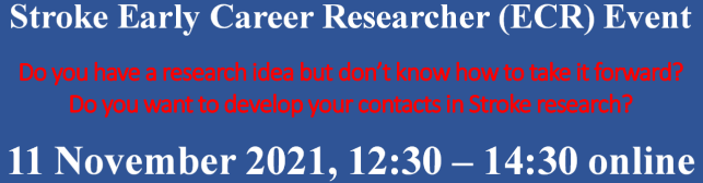 Stroke Early Career Researcher (ECR) Event