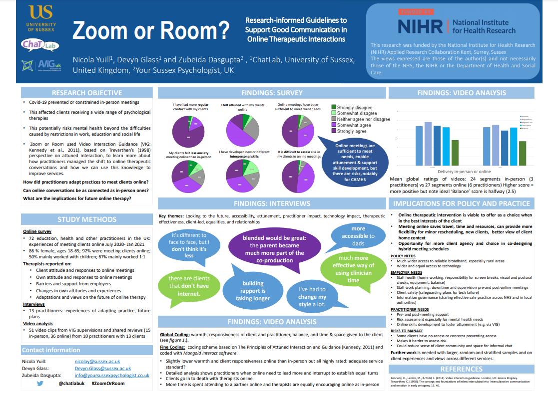 Zoom or Room? Professor Nicola Yuill Thumbnail